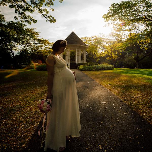 Botanic Gardens Photoshoot by Jiaxin